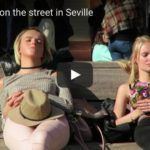 Blues Rock on the street in Seville